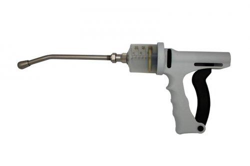 Dosador / Seringa Dosadora Bravo 60ml com Cânula de 20cm - Regulagem de 10ml a 60ml