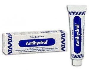 Antihydral®70g + eficiente que Driclor para mãos e pés