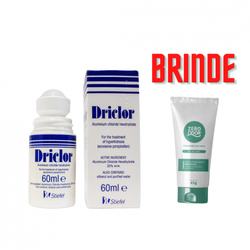 Driclor 60ml - Original - Importado da Inglaterra.