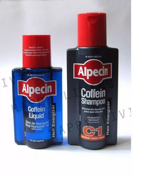 Kit Alpecin Antiqueda Shampoo C1 + Loção Para pentar Alpecin